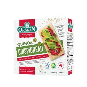413857 Orgran Quinoa Crispibread 125g 540x