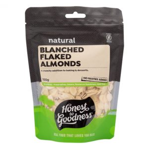 Blanched Flaked Almonds 150g Front Nualmbf5.150 20887.1617681743