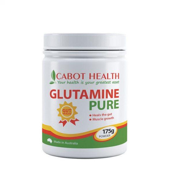 Cabot Health Glutamine Pure Powder 175g Media 01 93192.1538367175