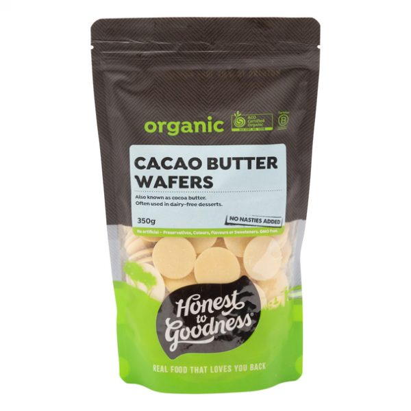 Cacao Butter Wafers 350g Front Chcacbw2.350.1 53971.1612500626