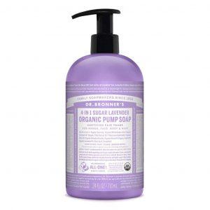 Dr Bronner Pump Soap 710ml Lavender A917830a 6f8d 4304 B83f 205f6860a1f4 1024x1024