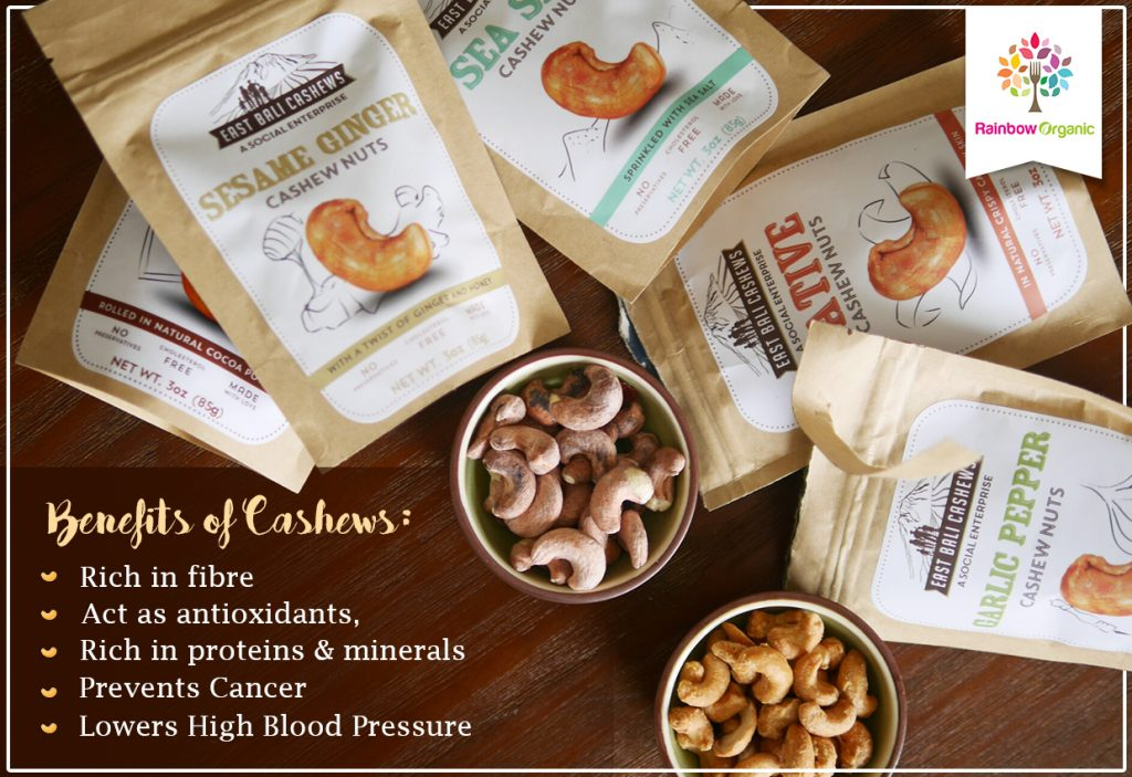 Eat Fresh And Right With East Bali Cashews