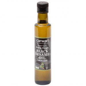Extra Virgin Black Sesame Oil 250ml Front Oisesevbl2.250 53334.1610497870
