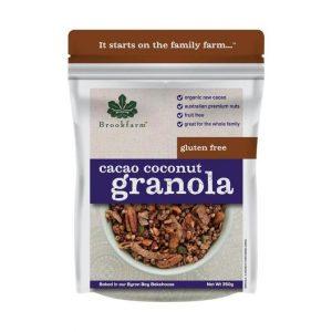 Granola Gluten Free Cacao Coconut 350g 672x672