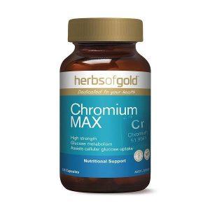 Herbs Of Gold Chromium Max 120c 5000x