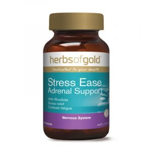Herbs Of Gold Stress Ease Adrenal Support Tablets 60