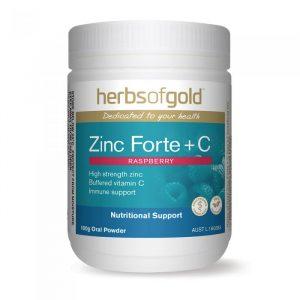 Herbs Of Gold Zinc Forte Plus C 100g Media 01 Lrg