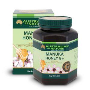 Manuka Honey 8 1kg Front