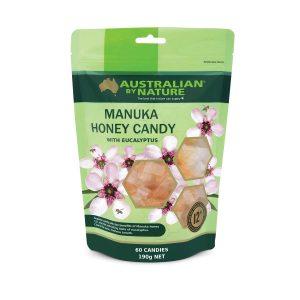 Manuka Honey Candy 60 Bag Front
