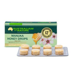 Manuka Honey Drops Single Pack Front 1