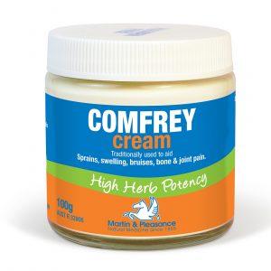 Martin Pleasance Herbal Cream 100g Natural Comfrey Cream