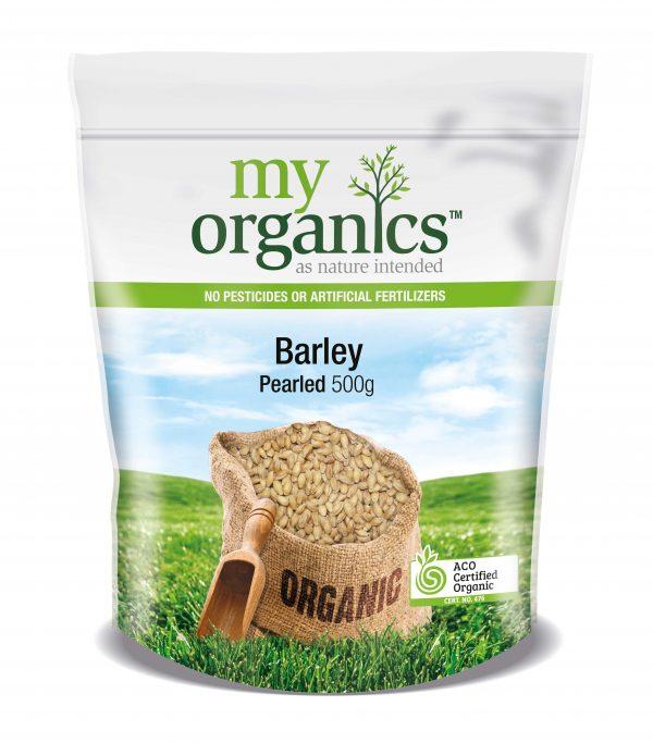 My Organics Retail Doy Pack Barley Pearled 500g