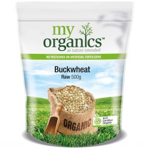 My Organics Retail Doy Pack Buckwheat Raw 500g