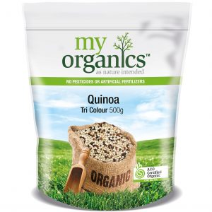 My Organics Retail Doy Pack Quinoa Tri Colour 500g