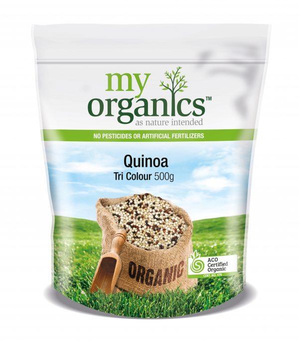 My Organics Retail Doy Pack Quinoa Tri Colour 500g
