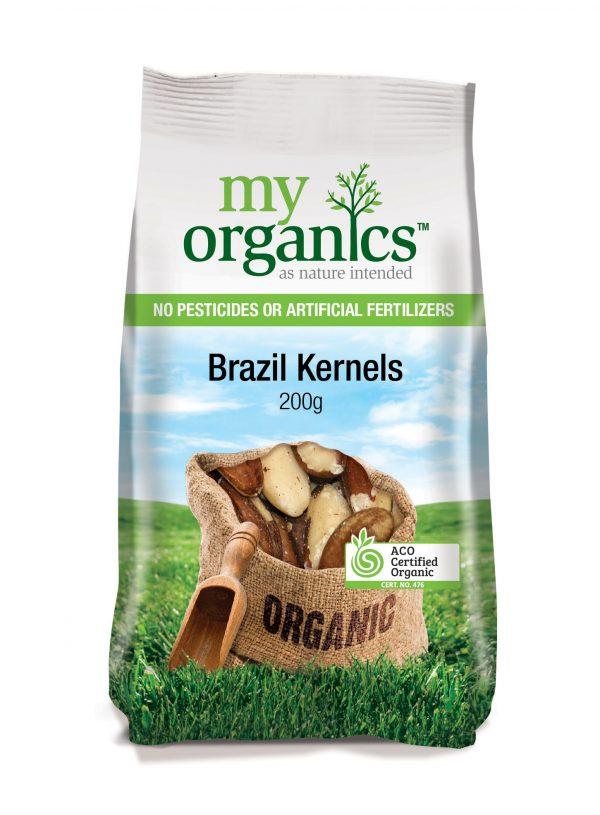 My Organics Retail Pack Brazil Kernels 200g