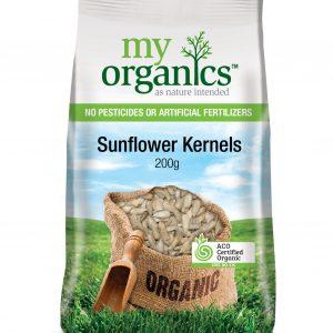 My Organics Retail Pack Sunflower Kernels 200g