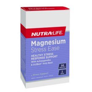 Nutralife Magnesium Stress Ease 30c Media 01