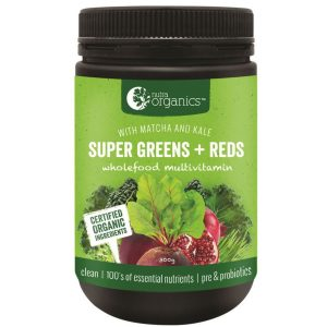 Nutraorganics Super Greens Plus Reds Powder 300g Media 01