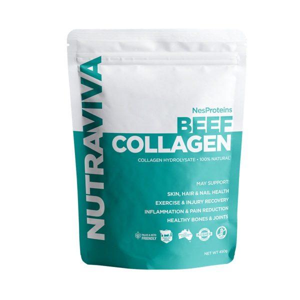 Nutraviva Nesproteins Beef Collagen 450g Media 01 1200x1200