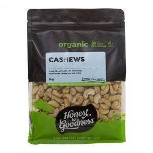 Organic Cashews 1kg Front Nucas2.1 32224.1599541886