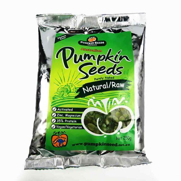 Pumpkin Seeds Aust Pumpkin Seeds 250g