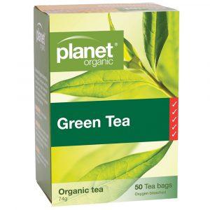 Planet Organic Green Tea X 50 Tea Bags Media 01