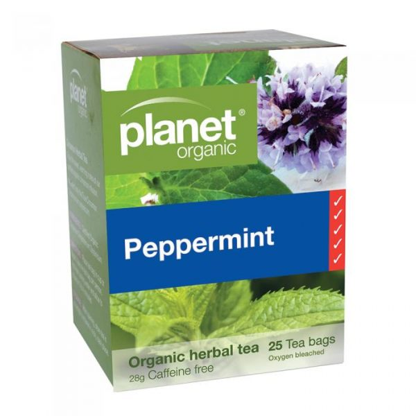 Planet Organic Peppermint Herbal Tea X 25 Tea Bags Media 01 Lrg