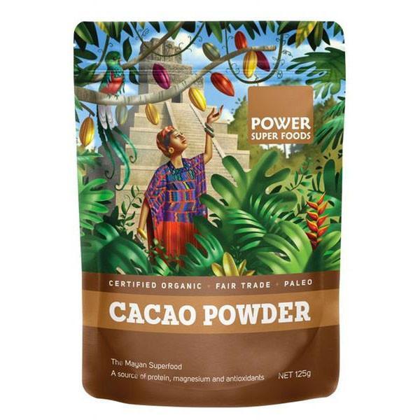 Power Super Foods Cacao Powder 125g