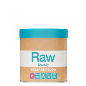 Raw Collagen Glow 5000 Wild Berry 200g Front 800x
