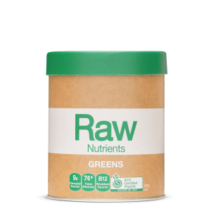 Raw Nutrients Greens 300g Front 900x