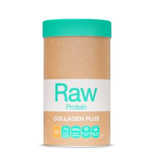 Raw Protein Collagen Plus Maple Vanilla 450g Front 900x