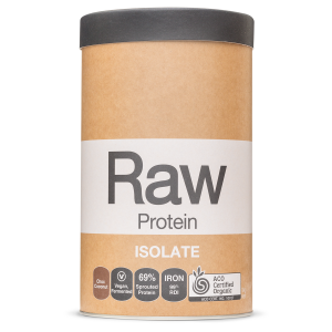 Raw Protein Isolate Choc Coconut 1kg Front 900x