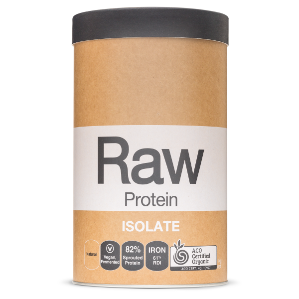 Raw Protein Isolate Natural 1kg Front 1800x1800