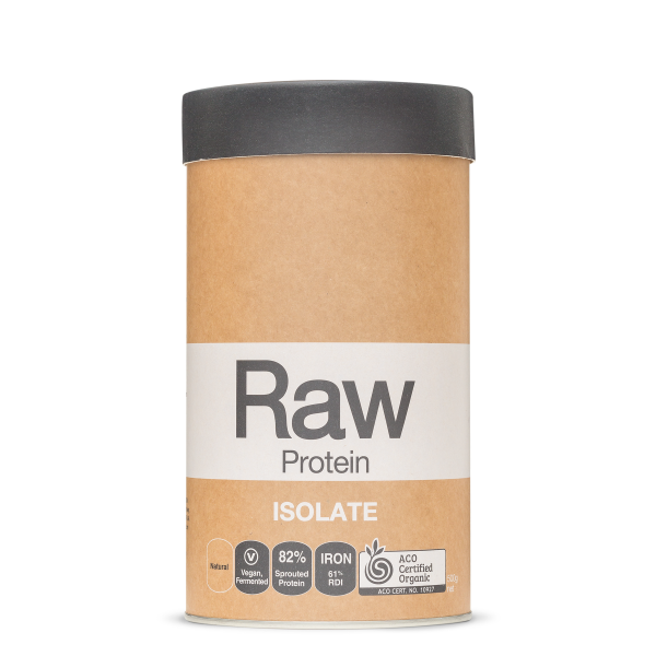 Raw Protein Isolate Natural 500g Front 1800x1800