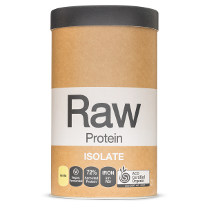 Raw Protein Isolate Vanilla 1kg Front 900x