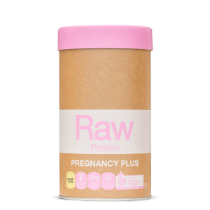 Raw Protein Pregnancy Plus Smooth Vanilla 500g Front 900x