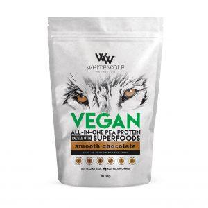 Vegan Choc 400g Front 1423x