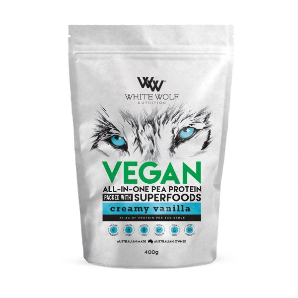 Vegan Vanilla 400g Front 1423x