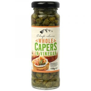 Whole Capers In Vinegar 110g