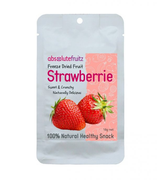 Absolute Fruitz Freeze Dried Strawberry 18g
