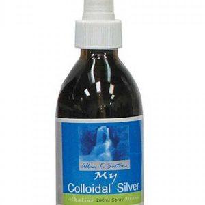 Allan K Suttons My Colloidal Silver Spray 200ml