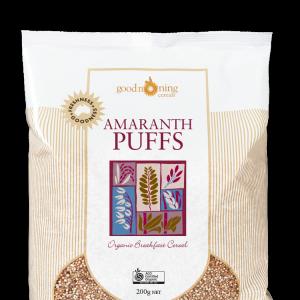 Amaranth Puffs Good Morning Cereals 1