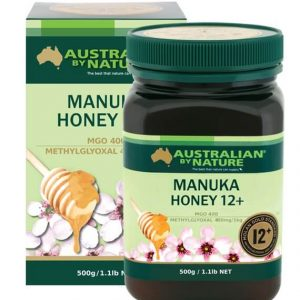 Australian By Nature Bee Active Manuka Honey 12 Mgo 400 500g
