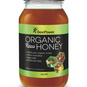 Beepower Organic Raw Honey 1kg