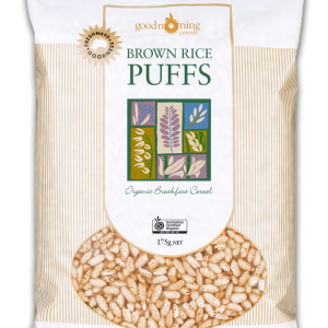 Brown Rice Puffs Good Morning Cereals 1