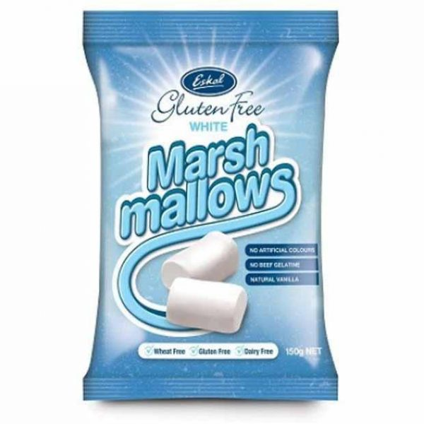 Eskal Marshmallow White Gluten Free Lollies Happytummies 2000x