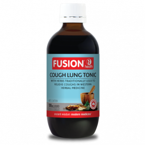 Fusion Health Cough Lung Tonic 100ml 2021 Q2 Lrg