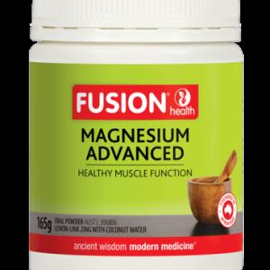 Fusionhealth Magnesiumadvancedpowderlemon Limezing 165