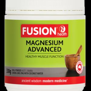 Fusionhealth Magnesiumadvancedpowderlemon Limezing 330